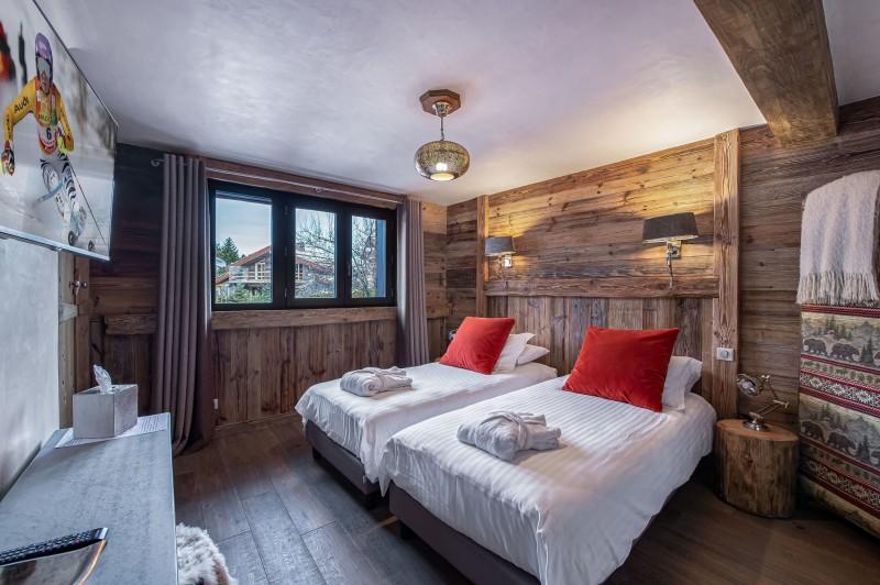 Courchevel 1300 Luxury Rental Chalet Noubate Bedroom 6