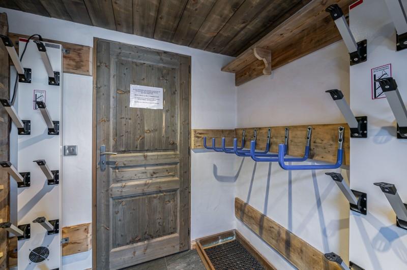 Courchevel 1300 Luxury Rental Chalet Noubate Ski Room