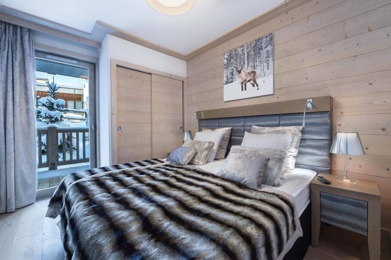Courchevel 1550 Location Appartement Luxe Telekia Chambre