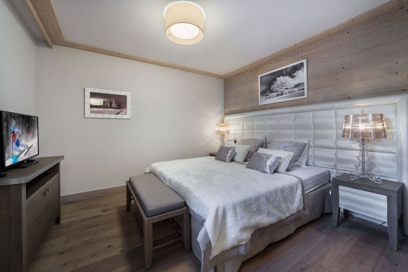 Courchevel 1550 Location Appartement Luxe Telekia Chambre 2