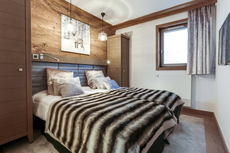 Courchevel 1550 Luxury Rental Appartment Telikia Bedroom
