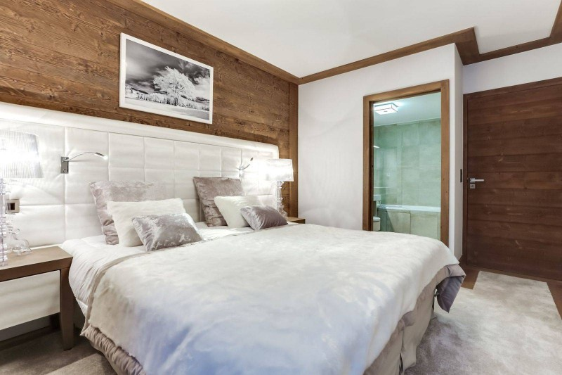 Courchevel 1550 Luxury Rental Appartment Telikia Bedroom 4