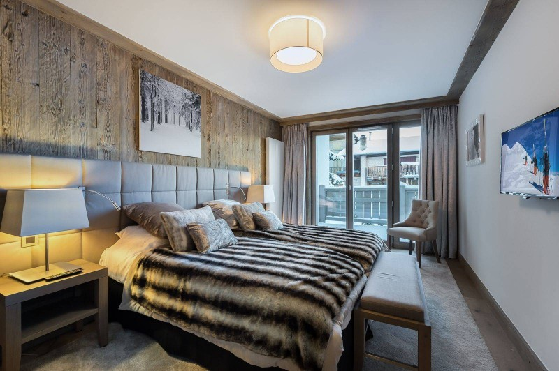 Courchevel 1550 Location Appartement Luxe Telokia Chambre