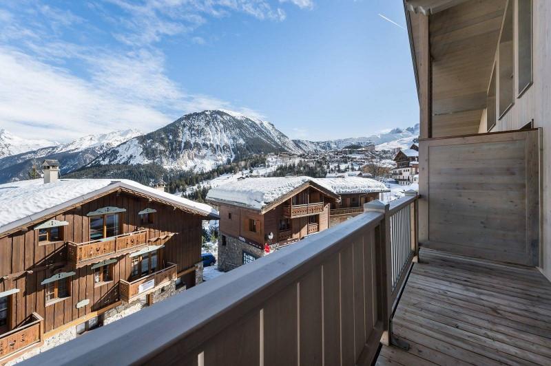 Courchevel 1550 Luxury Rental Appartment Telomite Balcony