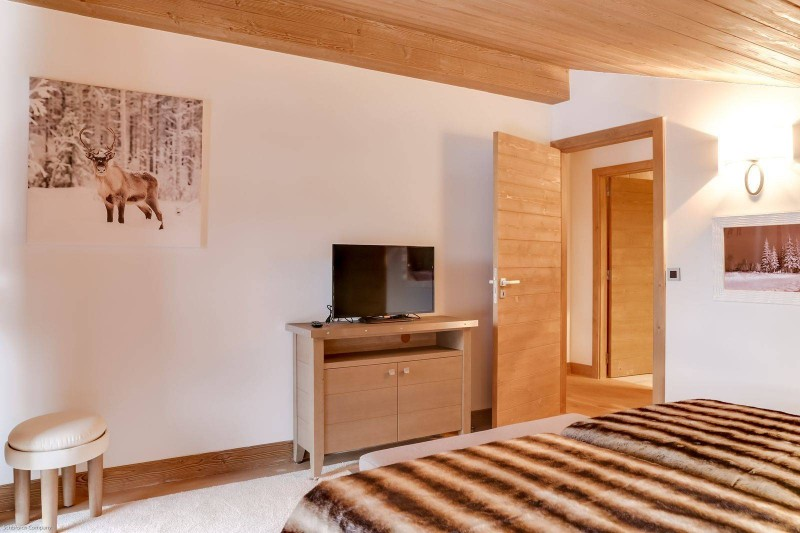 Courchevel 1550 Luxury Rental Appartment Telomite Bedroom 2