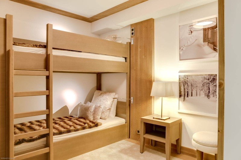 Courchevel 1550 Luxury Rental Appartment Telomite Bedroom 6