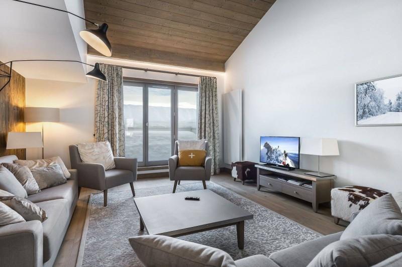 Courchevel 1550 Location Appartement Luxe Telukia Séjour 4
