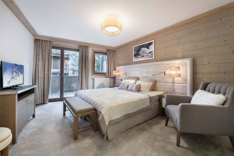 Courchevel 1550 Luxury Rental Appartment Telumite Bedroom
