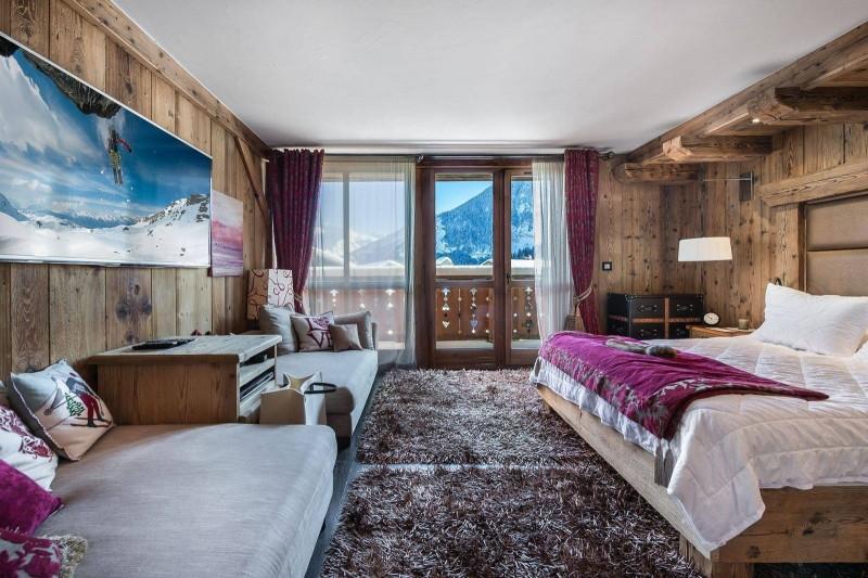 Courchevel 1550 Luxury Rental Chalet Niobite Bedroom 6