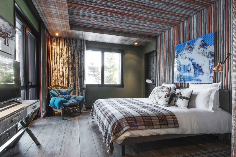 Courchevel 1550 Luxury Rental Chalet Niubise Bedroom 3