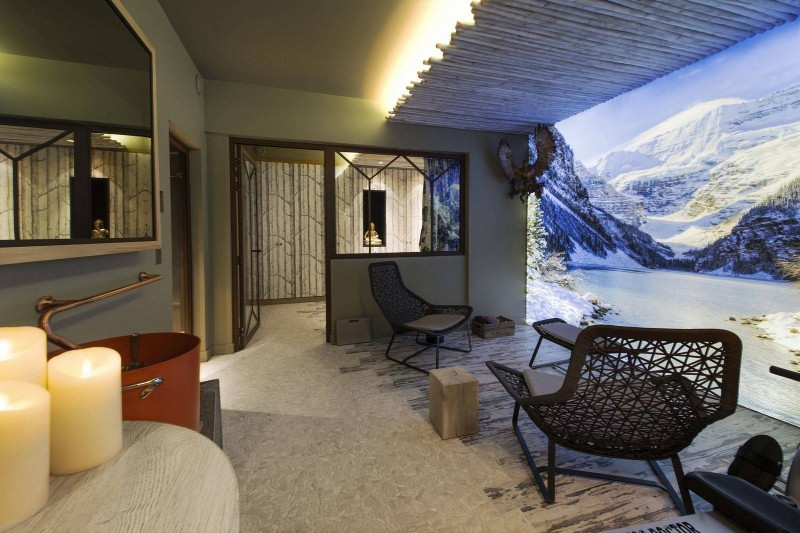 Courchevel 1550 Luxury Rental Chalet Niubise Relaxation Area