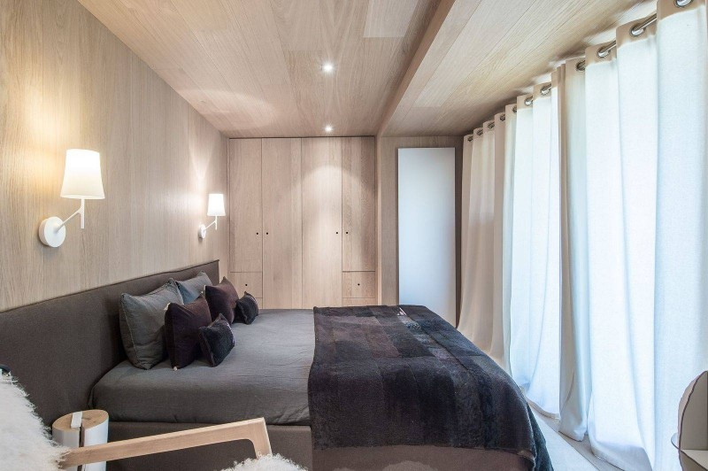 Courchevel 1550 Luxury Rental Chalet Niubite Bedroom 5