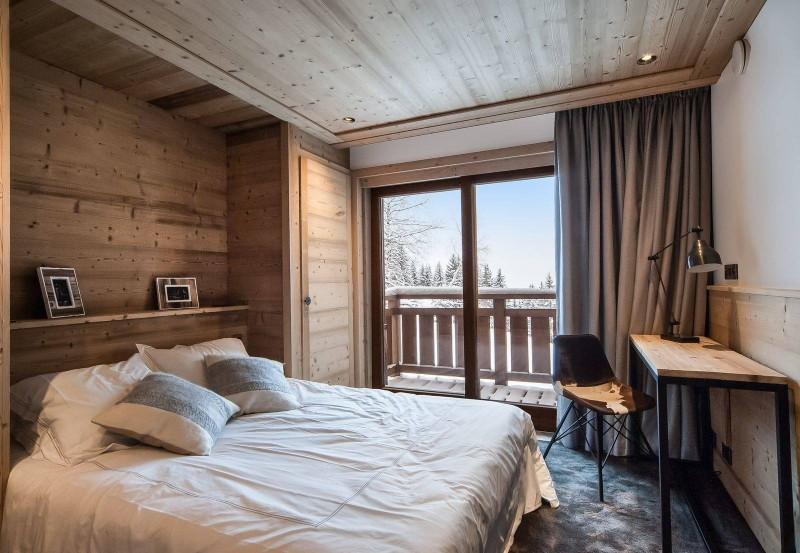 Courchevel 1550 Luxury Rental Chalet Niurer Bedroom 5