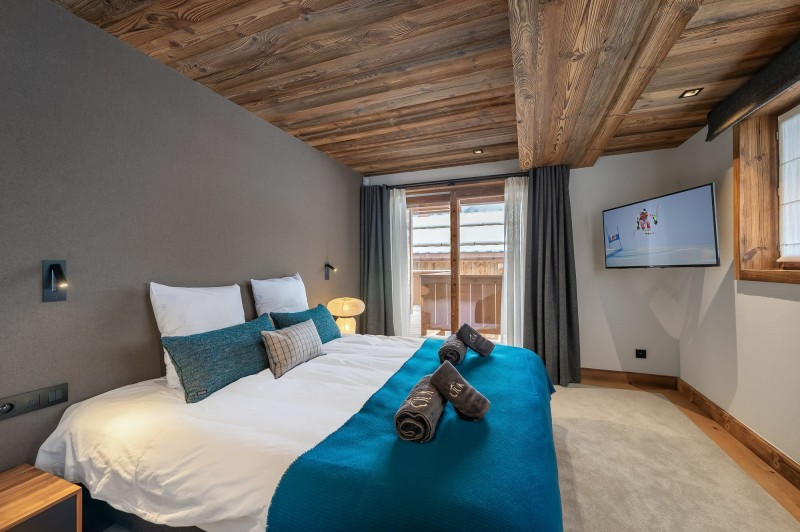 Courchevel 1550 Location Chalet Luxe Nuummite Chambre 2