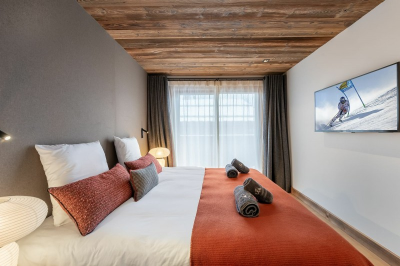 Courchevel 1550 Location Chalet Luxe Nuummite Chambre 3
