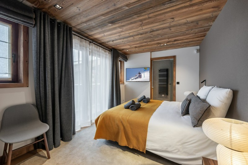 Courchevel 1550 Location Chalet Luxe Nuummite Chambre 4