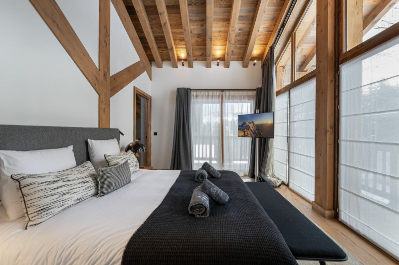 Courchevel 1550 Location Chalet Luxe Nuummite Chambre 6
