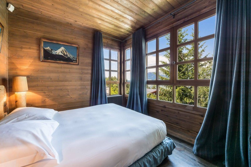 Courchevel 1550 Luxury Rental Chalet Tazoy Bedroom 3