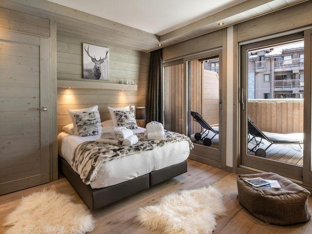 Courchevel 1650 Luxury Rental Appartment Agrelite Bedroom