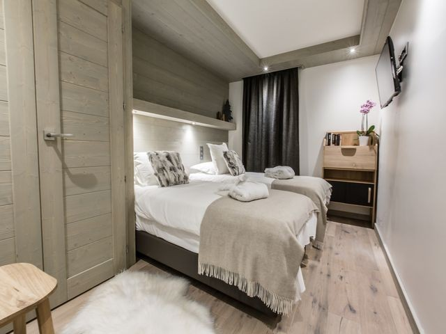 Courchevel 1650 Luxury Rental Appartment Agrelite Bedroom 5