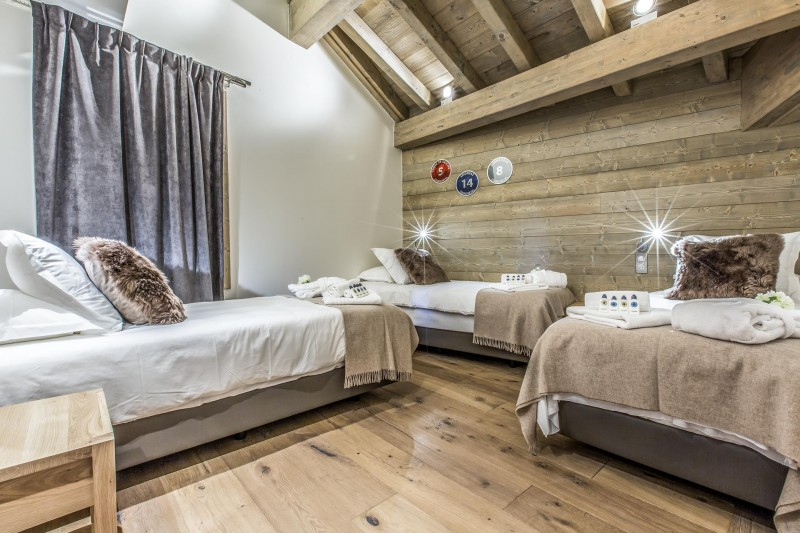 Courchevel 1650 Luxury Rental Appartment Akorlonte Bedroom 3