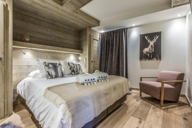 Courchevel 1650 Luxury Rental Appartment Akorlonte Bedroom 4