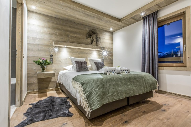 Courchevel 1650 Luxury Rental Appartment Akorlonte Bedroom 5