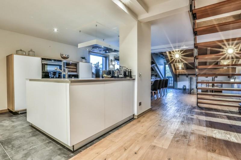 Courchevel 1650 Luxury Rental Appartment Akorlonte Kitchen