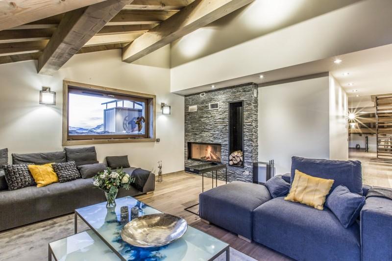 Courchevel 1650 Luxury Rental Appartment Akorlonte Living Room 3