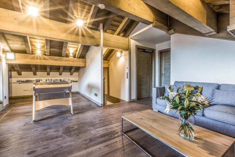 Courchevel 1650 Luxury Rental Appartment Akorlonte Living Room 5