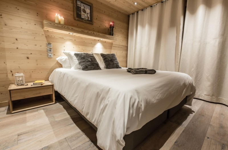 Courchevel 1650 Luxury Rental Appartment Alsola Bedroom 2