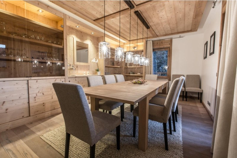 Courchevel 1650 Luxury Rental Appartment Alsola Dining Room