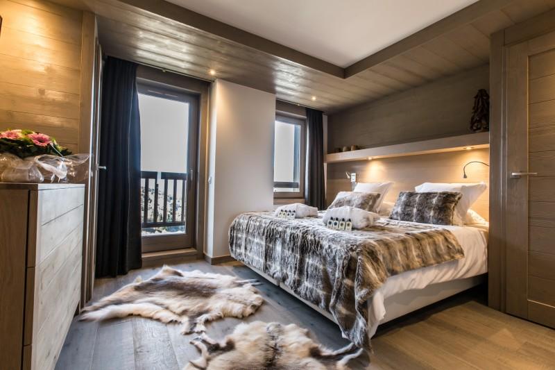 Courchevel 1650 Luxury Rental Appartment Altara Bedroom