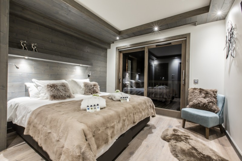 Courchevel 1650 Luxury Rental Appartment Alti Bedroom