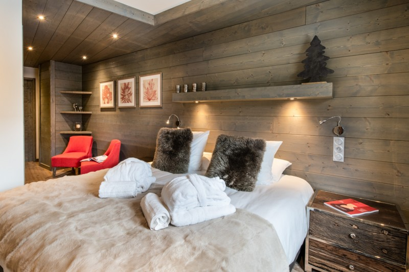 Courchevel 1650 Luxury Rental Appartment Alti Bedroom 3
