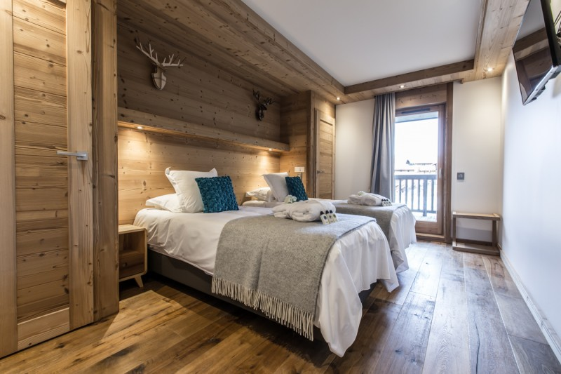 Courchevel 1650 Location Appartement Luxe Altu Chambre 2