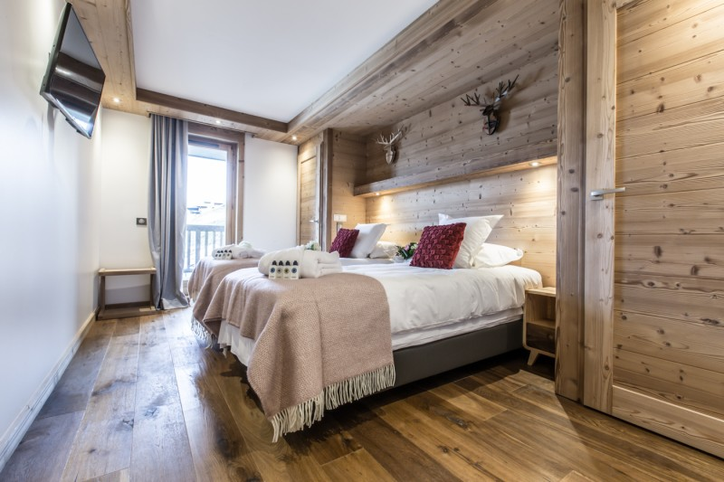Courchevel 1650 Location Appartement Luxe Altu Chambre