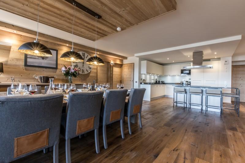 Courchevel 1650 Location Appartement Luxe Altu Salle A Manger 2