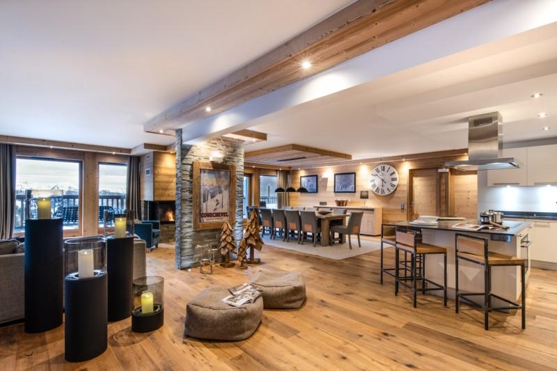 Courchevel 1650 Location Appartement Luxe Altu Séjour 2
