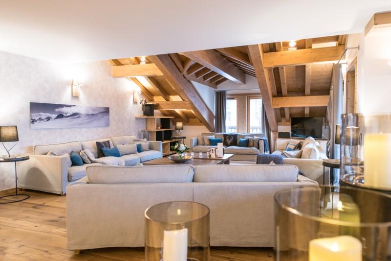 Courchevel 1650 Location Appartement Luxe Altu Séjour 3