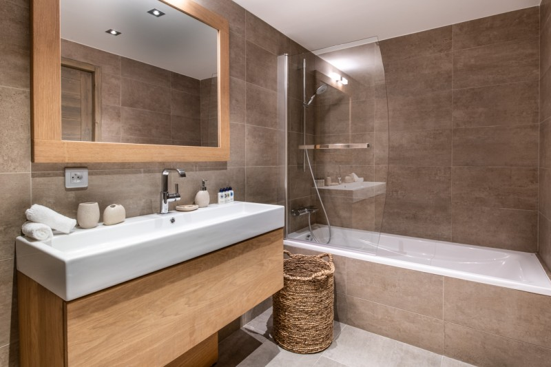 Courchevel 1650 Location Appartement Luxe Aluminite Salle De Bain