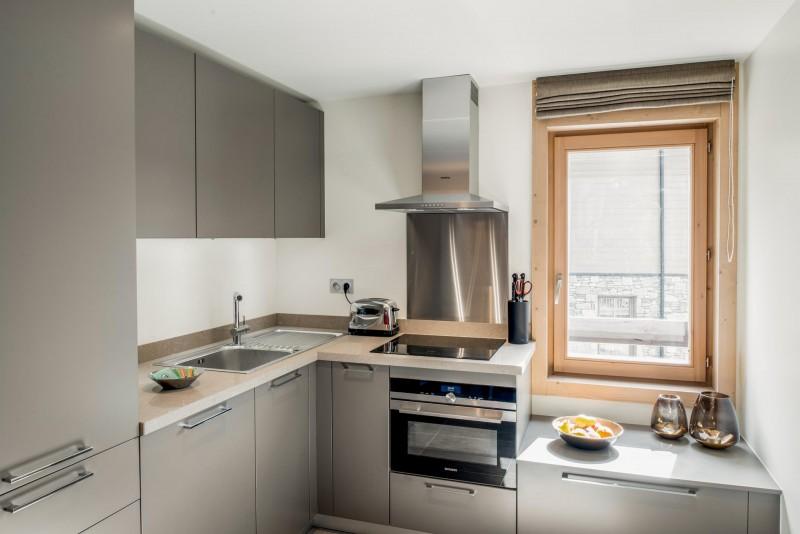 Courchevel 1650 Location Appartement Luxe Amarile Cuisine