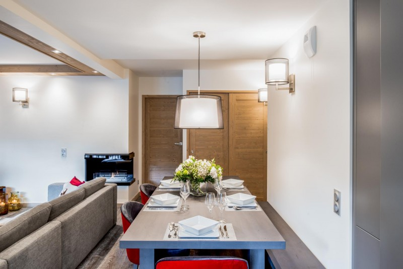 Courchevel 1650 Location Appartement Luxe Amarile Salle A Manger