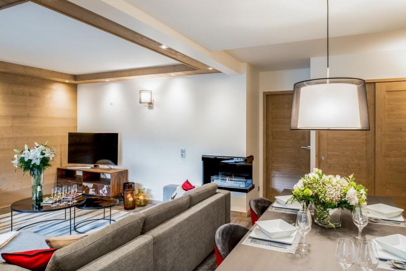 Courchevel 1650 Location Appartement Luxe Amarile Séjour 2