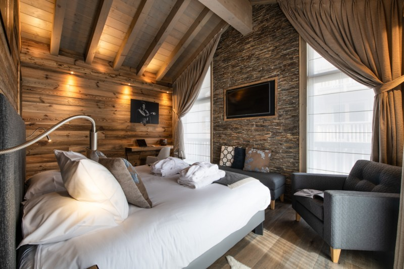Courchevel 1650 Luxury Rental Appartment Amerile Bedroom 4