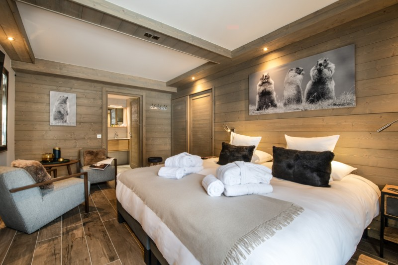 Courchevel 1650 Luxury Rental Appartment Amerile Bedroom 7