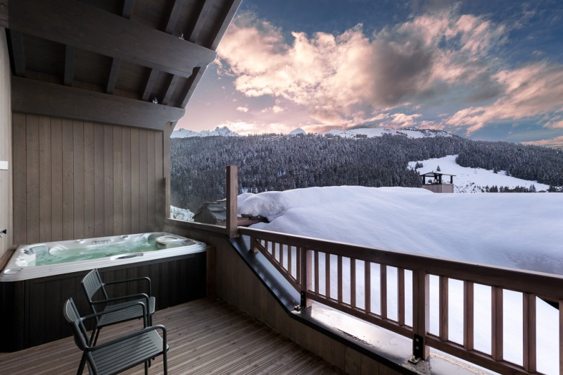 Courchevel 1650 Luxury Rental Appartment Amerile Jacuzzi