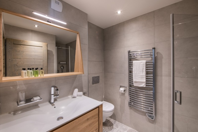 Courchevel 1650 Luxury Rental Appartment Amerile Bathroom 3