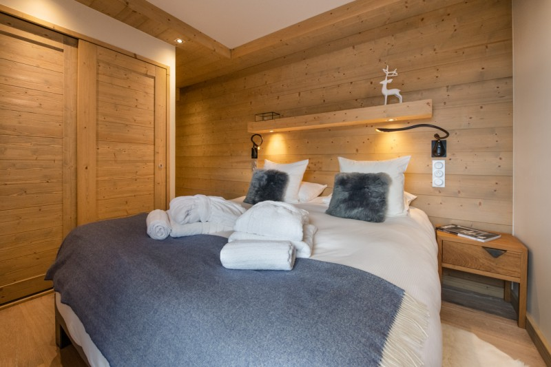 Courchevel 1650 Luxury Rental Appartment Amethyste Bedroom 4