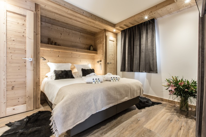 Courchevel 1650 Luxury Rental Appartment Amicite Bedroom